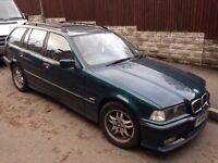 BMW 316i Touring E36 Racing Green **NO MOT**