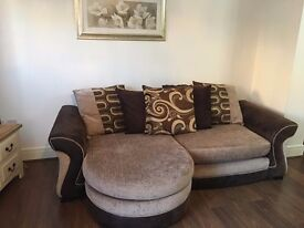 4 Seater Pillow Back Lounger £200