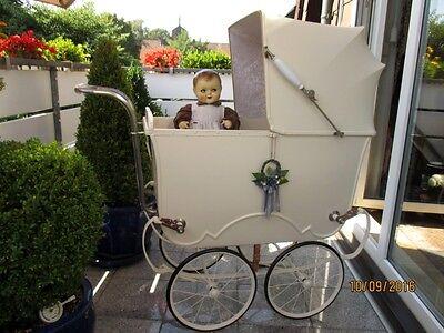 Ein Traum, alter Kinderwagen 20er Jahre von Brennabor,  Puppenwagen