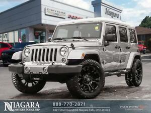 2017 Jeep Wrangler UNLIMITED | SAHARA | MUDDERS | LEATHER | NAVI