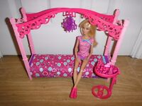Barbie Glam Bedroom Furniture New Condition £10 O.N.O