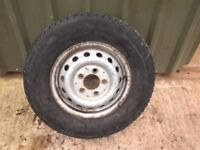 VW LT / MERCEDES SPRINTER 1996-2006 Steel Wheel & Tyre 225/70R15C