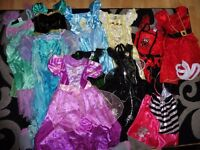 Girls Fancy Dress Bundle 7-8 Years