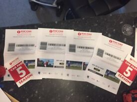 Women's British Open 4 tickets + 2 Parking passes Royal Lytham 2 to 5th August 2018