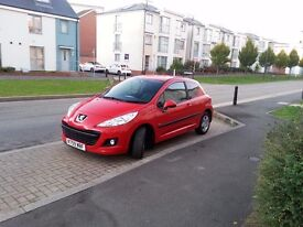 Peugeot 207 1.4 HDi Verve 3dr with 12months MOT