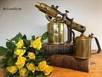 Pair of vintage blow torches