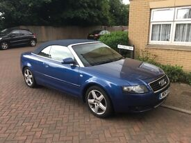 2004 Audi A4 convertible, low miles
