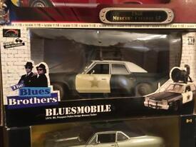 Blues Brothers mobile Dodge Monaco model 1:18 rare