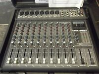 CARLSBRO MEGAMIX 12 DSP 12 CHANNEL MIXER WITH CASE