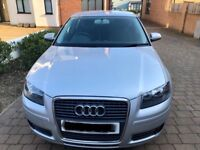AUDI A3 Special Edition. 5 door 1.6l with service book and 2 Keys.