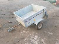 4x3 noval galvanised trailer with new tyres