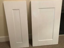 Wren Kitchen Doors x 14 (Sealed White Gloss)