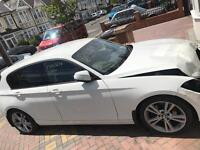 BMW 120D SPORT WITH BLACK LEATHER WITH RED STITCHING DAMAGED REPAIRED SALVAGE
