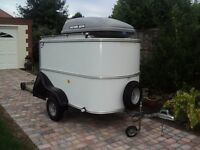 box trailer ifor williams and top box