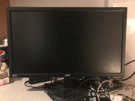 "23"" Monitor with keyboard and mouse"