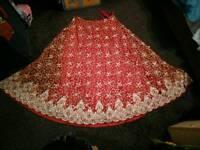 Bridal lengha dress