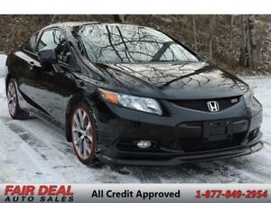 2012 Honda Civic Si: Sunroof/Cold Air Intake/Aftermarket Exhaust