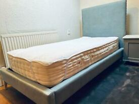 Single studded bed and mattress from Sofas and stuff
