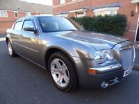 2007 CHRYSLER 300C 3.0 CRD V6 DIESEL AUTO STUNNING FULL LEATHER SAT NAV LOOK