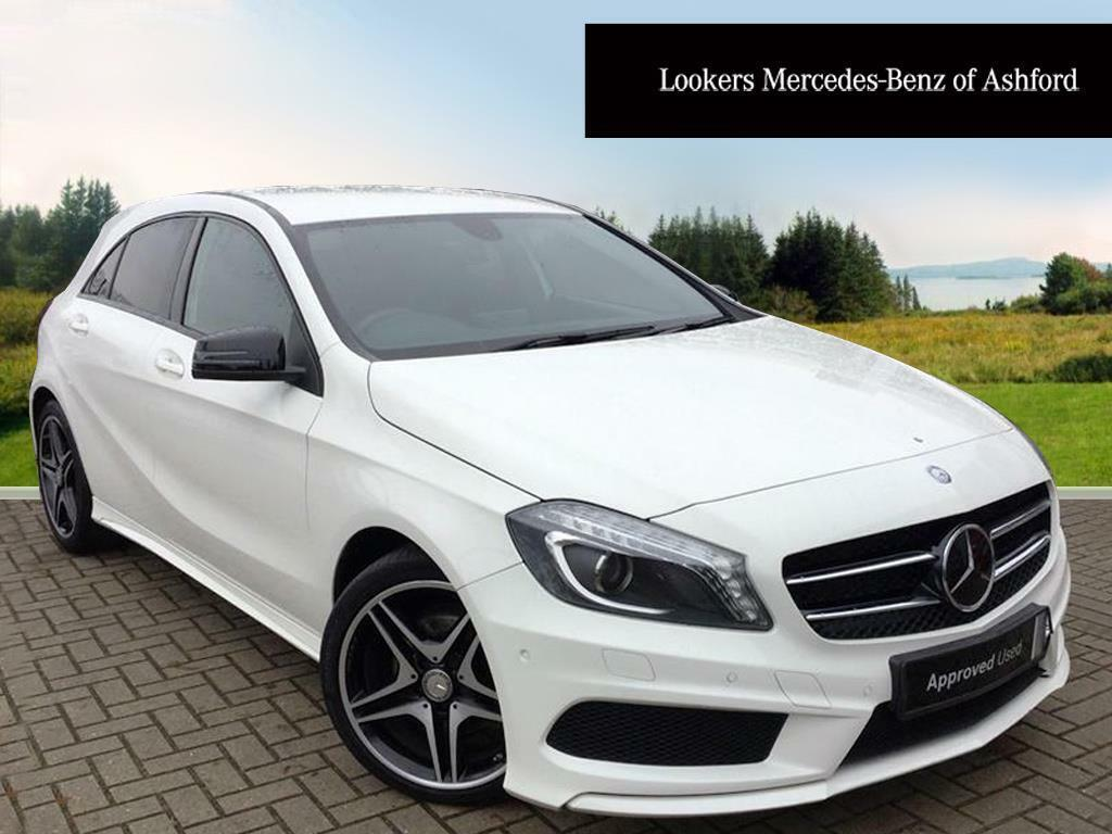 mercedes benz a class a200 cdi amg sport white 2015 01 30 in ashford kent gumtree. Black Bedroom Furniture Sets. Home Design Ideas
