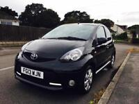 BARGAIN 2013 TOYOTA AYGO FIRE AC BLACK 40,000 MILES ZERO ROAD TAX