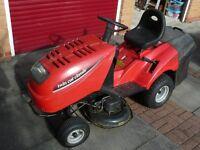 Garden tractor mower