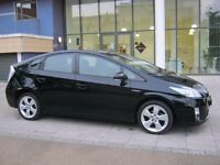 2010 toyota prius t4 hybrid automatic, met black, 1 owner, 106k f/s/h,toyota, long mot, hpi clear