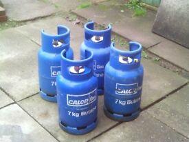 caravan 7 kg blue gas bottle