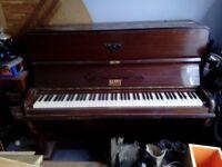 1940s Berry standup piano.