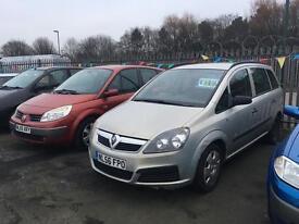 2007 Vauxhall Zafira 1.6 newer shape