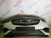 OPEL VAUXHALL INSIGNIA NEW MODEL FRONT BUMPER IN WHITE 2017-ON MODELS