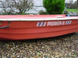 pioner 8 tender can deliver