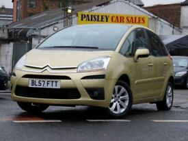 CITROEN C4 PICASSO 5 VTR PLUS 1.8cc 5 Door, 2007 REG.