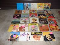 VINYL RECORDS ROUGHLY A HUNDRED