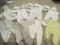 Neutral newborn and up to 1 month bundle