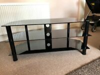 Black Gloss TV Stand
