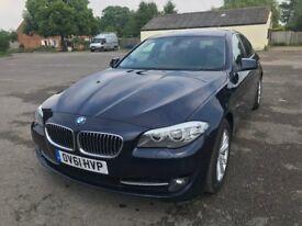 BMW 525d 2.0 diesel twin turbo auto professional sat nav (61 reg)