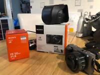 Sony A6000 As New