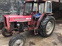 International 474 tractor