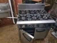 6xburner gascooker