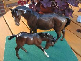 Vintage Beswick Horses