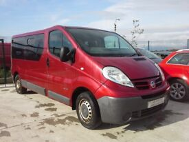 **For breaking** Nissan Primastar 2.0 diesel, 6 speed (2009).