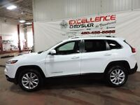 2015 Jeep Cherokee LIMITED,6 CYLINDRE,4X4, UCONNECT 8.4 POUCES