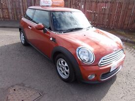 2011 (61) MINI ONE WITH PEPPER PACK 1.6 ORANGE ++++ONLY 19.121 MILES +++ FULL SERVICE HISTORY