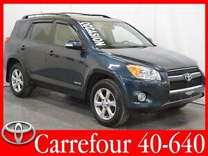 2012 Toyota RAV4 4WD Limited Cuir+Navigation+Toit Ouvrant