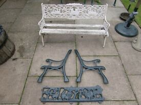cast iron bench ends etc from £20 - £60