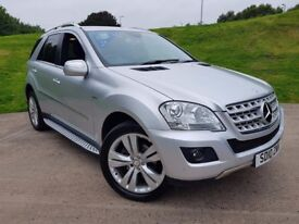 Mercedes-Benz M Class 3.0 ML300 CDI BlueEFFICIENCY Sport 5dr - 2 Owners. 4 Service Stamps