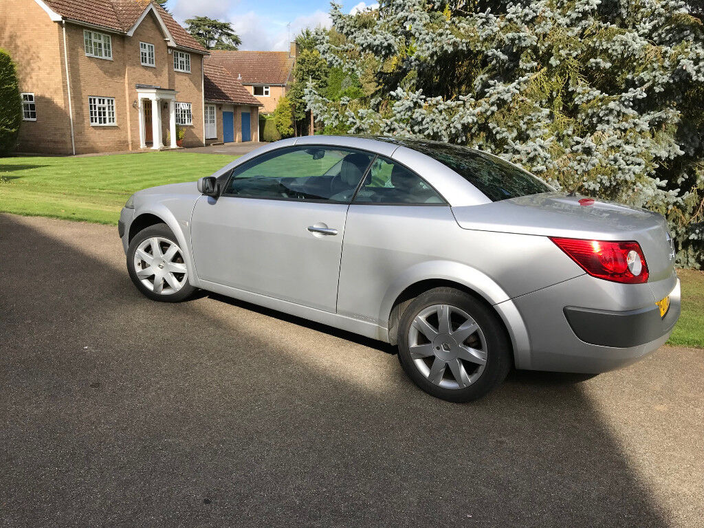 Renault Megane Convertible 1.6 Petrol Dynamique 2007 - Silver - Great Condition