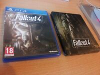 Fallout 4 Steelbook edition mint condition