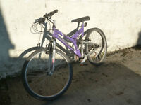 EXCEL VEGAS DUAL SUSPENSION Mountain / Leisure Bike, up to 18 gears Bicycle